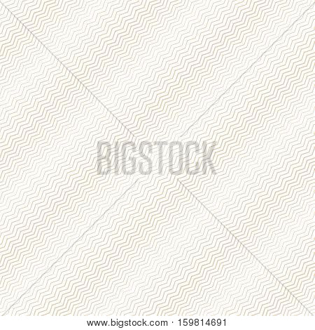 Seamless pattern. Simple linear texture in the form of a zigzag waves. Repeating geometric shapes thin lines zigzags. Halftone. Backdrop. Web. Vector element of graphic design