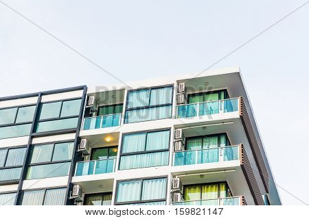 Modern Loft Condo Apartment Buildings Uprisen View