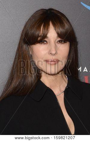 LOS ANGELES - DEC 1:  Monica Bellucci at the