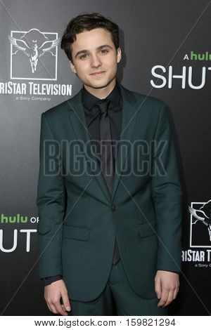LOS ANGELES - DEC 1:  Dylan Schmid at the Premiere Of Hulu's