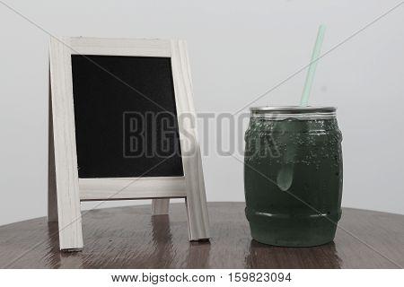 Green Apple Soda Juice