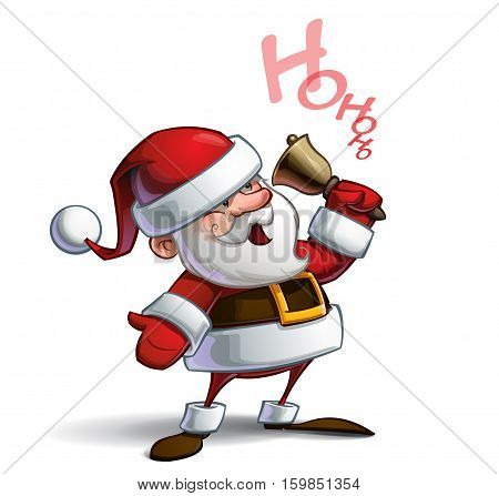 Smilling Santa - Ho Ho Ho