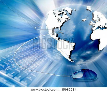 Raum-Business-Kommunikation