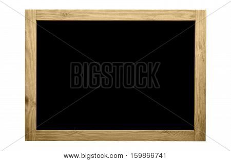 Wooden frame for decorative text and image.Vintage color concept.