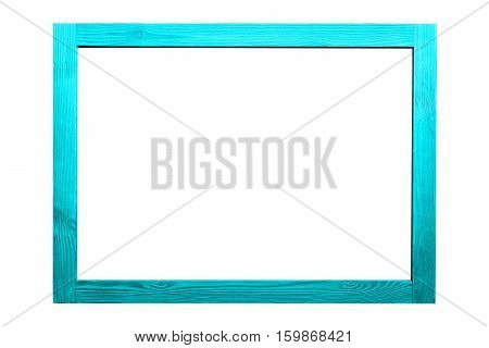 Wood frame for decorative text and image.