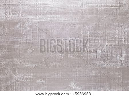 Light clay wood surface texture background with cracks