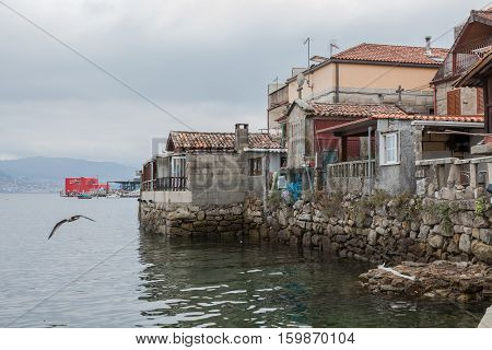 ombarro is a Galician town of tourist and cultural interest. Fishing village and famous for its old town made of natural stone. Combarro, Poio, Pontevedra, Galicia Spain