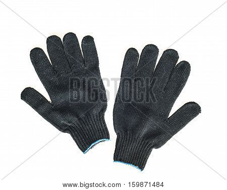 work gloves, isolated on the white background
