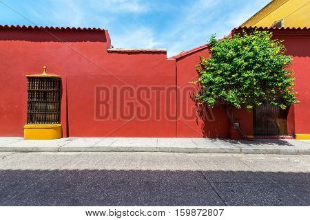 Beautiful Cartagena Architecture