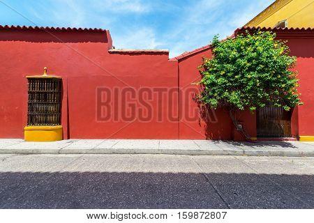 Beautiful Cartagena Architecture