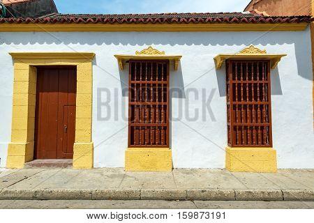 White Colonial Architecture