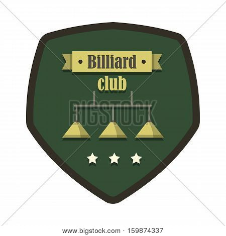Retro vintage emblem billiard game. Billiard labels for you design banners infographics.