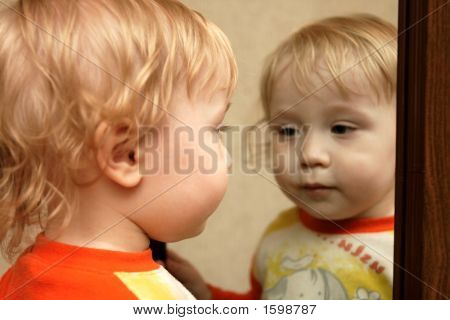 Boy With Mirror