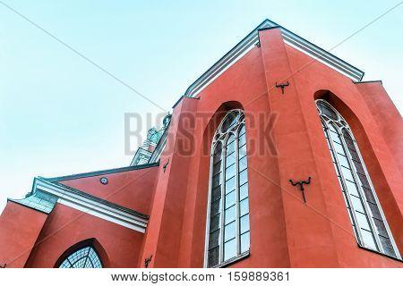 Sankt Jacobs kyrka church in stockholm sweden