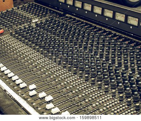 Vintage Looking Soundboard