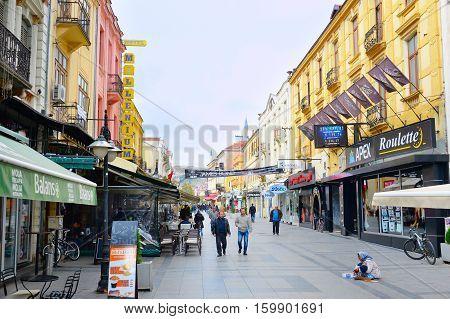 Bitola City Center, Macedonia