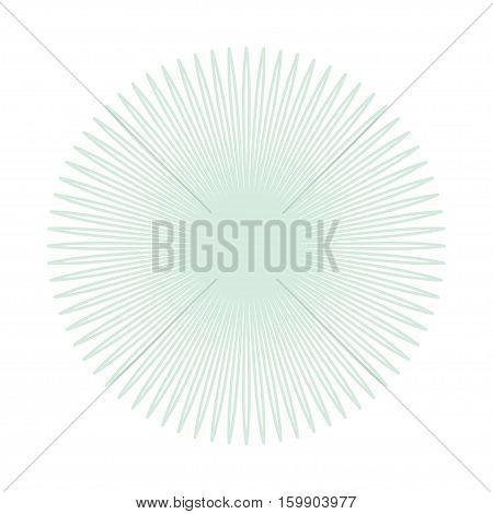 Elegant Guilloche Decorative Rosette Element