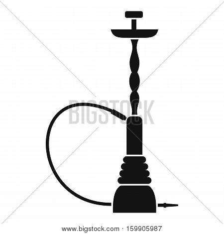 Hookah icon. Simple illustration of hookah vector icon for web