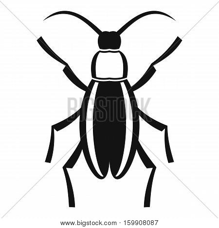 Beetle bug icon. Simple illustration of beetle bug vector icon for web