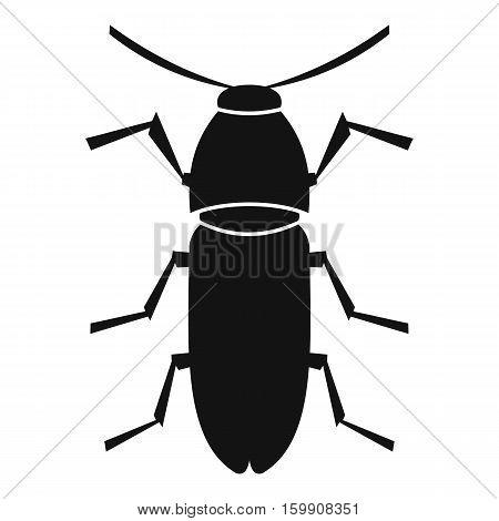 Cereal leaf beetle icon. Simple illustration of cereal leaf beetle vector icon for web