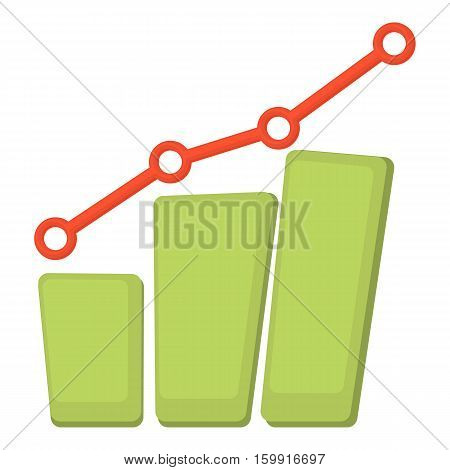 Diagram icon. Cartoon illustration of diagram vector icon for web