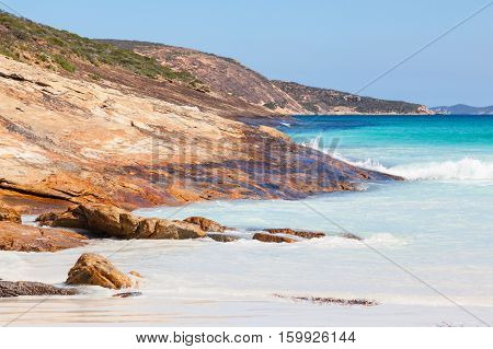 Le Grand Beach in Cape Le Grand National Park, near the town of Esperance in Western Australia.