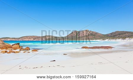 Thistle Cove Beach in Cape Le Grand National Park, near the town of Esperance in Western Australia.
