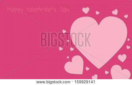 Collection stock of valentine day backgrounds vector illustration