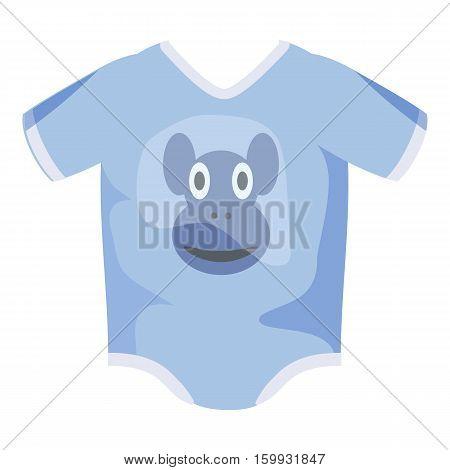 Infant bodysuit icon. Cartoon illustration of infant bodysuit vector icons for web