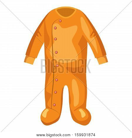 Jumpsuit for baby icon. Cartoon illustration of jumpsuit for baby vector icon for web