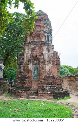 Wat Mahathat Temple, Ayutthaya Historical Park, Phra Nakhon Si Ayutthaya, Ayutthaya ,thailand.