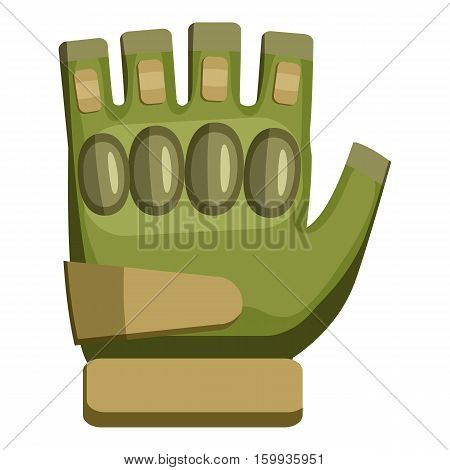 Glove icon. Cartoon illustration of glove vector icon for web