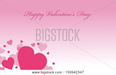 Romance valentine day backgrounds vector collection stock