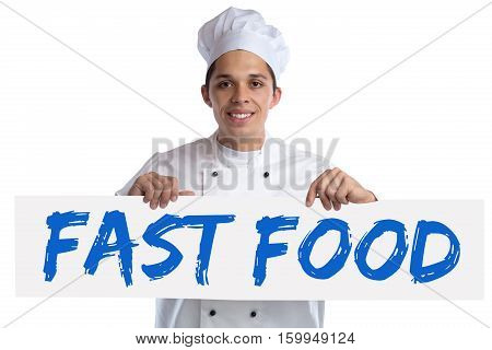 Fast Food Unhealthy Eating Eat Cook Cooking Isolated