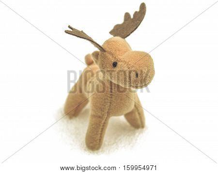 Vintage Looking Christmas Deer