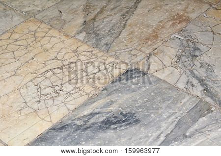 Paving Slabs Close Up A Background