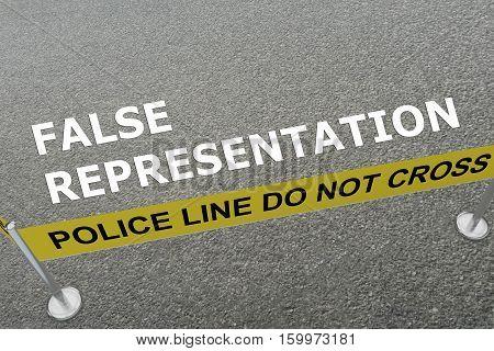 False Representation Concept