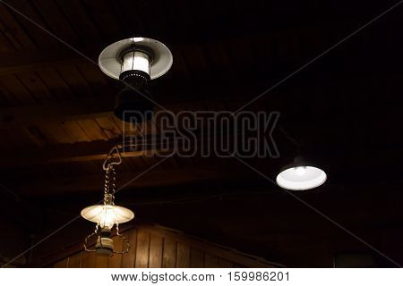 Light Lamp Electricity Hanging Decorate Home Interior Design