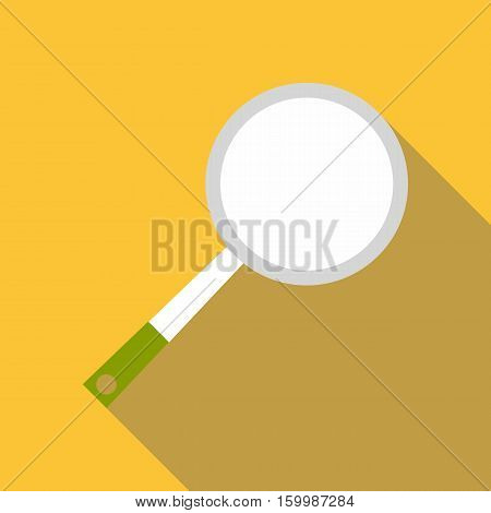 Frying pan icon. Flat illustration of frying pan vector icon for web