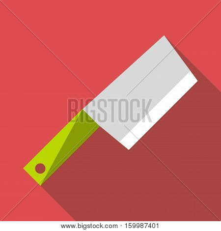 Kitchen axe icon. Flat illustration of kitchen axe vector icon for web