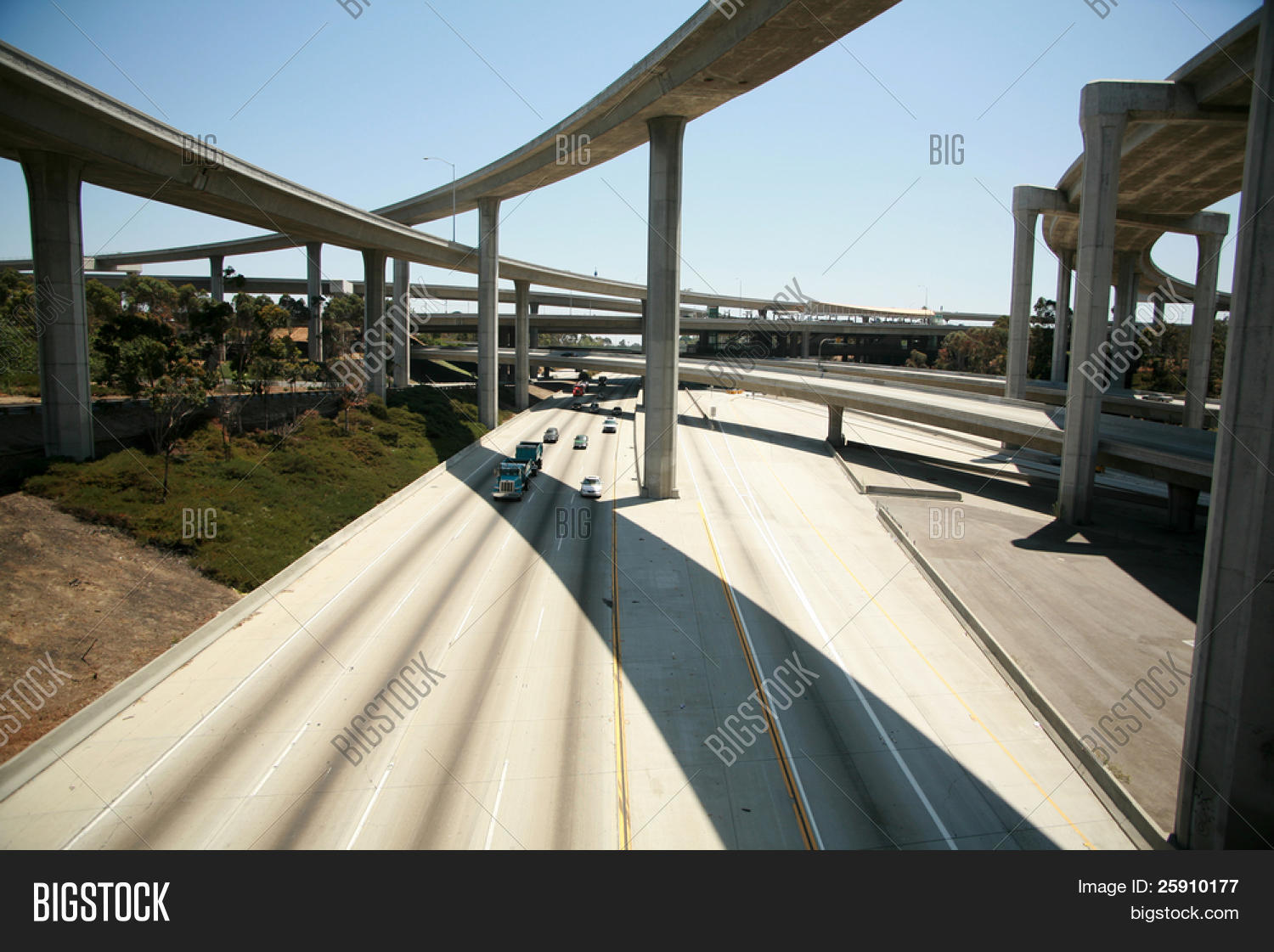 110 Freeway South Image & Photo (Free Trial) | Bigstock