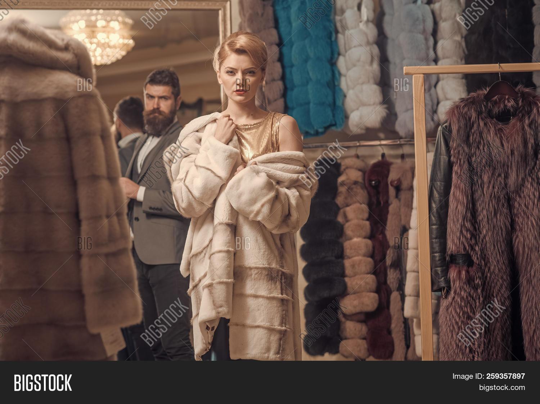 Fur Coat Couple
