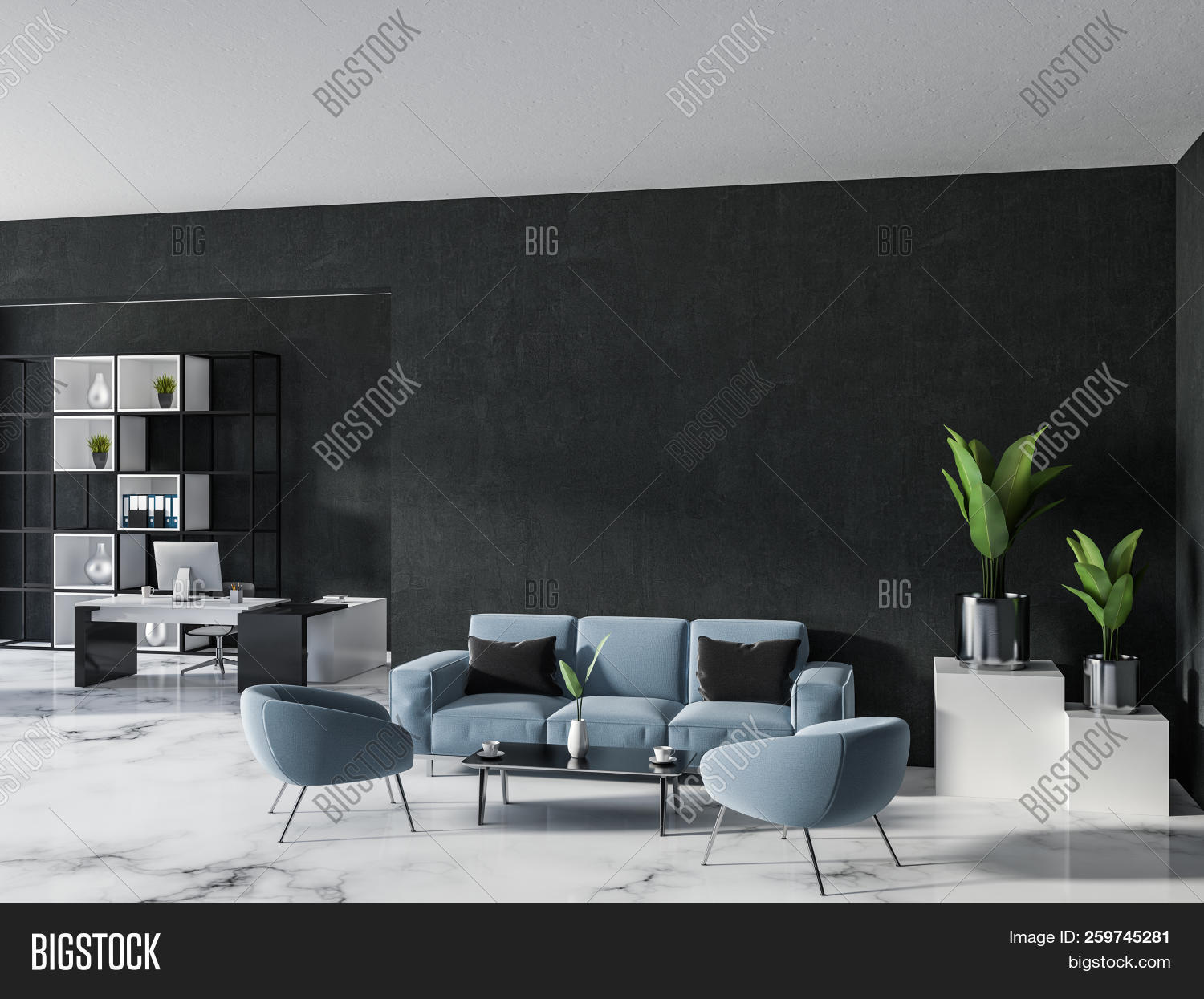 Luxury Home Office Image Photo Free Trial Bigstock