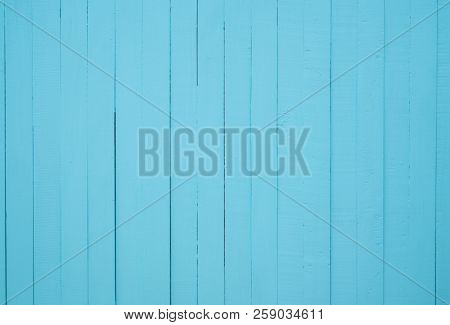 Blue Wood Texture Background. Wood Backdrop. Blue Pastel Color Background. Unique Wood Abstract Back