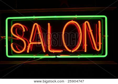 Neon Sign series  Salon