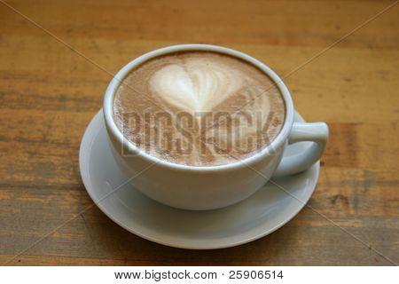 a latte with