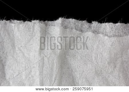 Rip Paper Close Up Texture Or Background