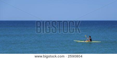 Kayak Ocean Perfect Day
