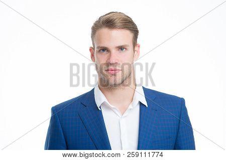 White Collar Worker. Macho Confident Ready Work Office. Guy Office Worker Handsome Attractive. Worki