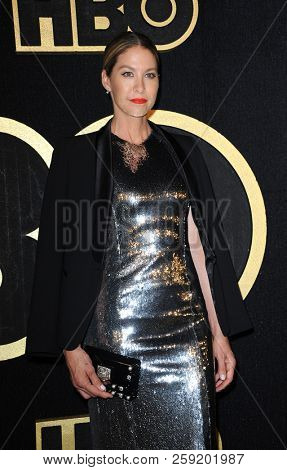 Jenna Elfman at the HBO's Official 2018 Emmy After Party held at the Pacific Design Center in West Hollywood, USA on September 17, 2018.